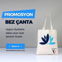 Artık tanıtımlarınız daha uygun fiyatlarla daha uzun sürecek. Logonuzu veya tasarımınızı destek@istecanta.com mail adresine ileterek hemen sipariş verebilirsiniz. #bezcanta #beztorba #promosyon #tanitim #reklam #toptan #totebag
