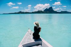 Trippin with Tarte in Bora Bora