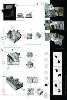 Farlie14_02_pro01 montage final Working Drawing, Urban Design, Portfolio Design, Persona, Competition, 21st, Presentation, Boards, Printing