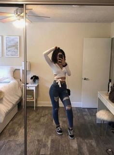 Untitled outfits for teens, summer outfits, simple outfits, trendy outfits, spring outfits Fashion Mode, Teen Fashion Outfits, Dope Outfits, Swag Outfits, Cute Casual Outfits, Simple Outfits, Look Fashion, Summer Outfits, Summer Cowgirl Outfits