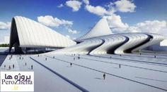 Amazing piece of architecture. Azerbaijan Cultural Center in Baku by Zaha Hadid Architects. Zaha Hadid Architecture, Zaha Hadid Buildings, Architecture Design, Futuristic Architecture, Amazing Architecture, Organic Architecture, Building Architecture, Zaha Hadid Design, Arquitetos Zaha Hadid