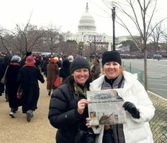 Pattie Traynor and Melissa Howden catch up on The Taos News just before The Presidential inauguration.