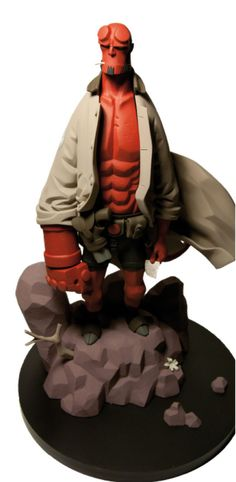 1/6th Scale Mike Mignola's Hellboy Statue - - Action Figures Toys News ToyNewsI.com