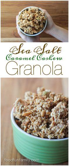 ... ) on Pinterest | Granola, Pumpkin Granola and Chewy Granola Bars