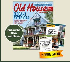 Your number one resource for Old House enthusiast photos, floor plans, services, materials and more!