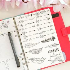 Arrows Bullet journal Nicole's.journal