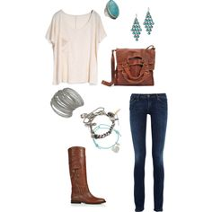 turquoise, created by joy-benner-steward on Polyvore