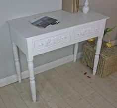 http://ift.tt/1YjpzNf Sekretär Tisch weiß antik shabby chic Landhaus Cottage Konsole Anrichte Rosali &mamily#