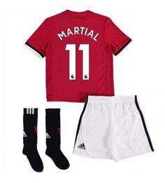 Manchester United Anthony Martial 11 Dětské Domácí Dres 17-18 Krátký Rukáv Anthony Martial, Marcus Rashford, Manchester United, Sock Shop, Short Socks, Jersey Shorts, Full Set, Youth, The Unit