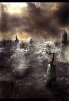 "End of Days:  ""#Doomsday,"" by masKade, at deviantART."