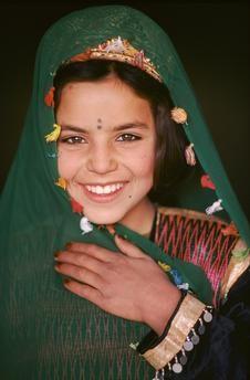 Afghanistan   Baloch woman