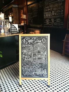 Chalk design by Carolina Ro - #B #beer #wine