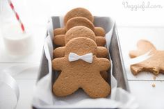 For my Vegan friends! http://www.veggieful.com/2013/12/vegan-gingerbread-men-cookies-recipe.html