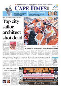 News making headlines: Top city, architect shot dead