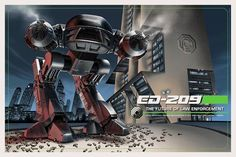Jason Edmiston - A Rogues Gallery: ED 209