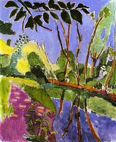 Matisse - The Bank, 1907, Oil on canvas