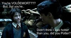 hahaha... so true. Tom Riddle is sexy.