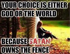 God owns the world but Satan is permitted to run a large degree of it