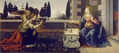 Leonardo Da Vinci ~ Annunciazione