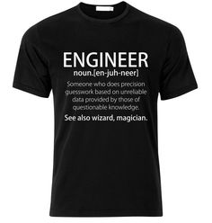 Engineer T-Shirt  available in many sizes and colors by SoorDesign
