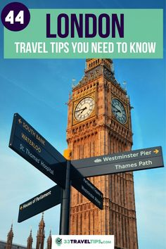 London packs a powerful punch of parks, museums, landmarks, and restaurants. In this article we will show you the 44 top London travel tips that will help you enjoy the British capital in the best way possible. Things to do before going to London | When to go to London | What to eat in London | Where to eat in London | Traveling to London | How to go to London Where to stay in London | London Travel Guide | London Bucket List | London Travel Tips #london #traveltips Backpacking Europe, Europe Travel Guide, Travel List, Travel Advice, Travel Guides, Travel Uk, Luxury Travel, Travel Destinations, Day Trips From London