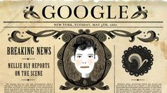 """Nellie Bly championed the rights of the disenfranchised, reported from deep-sea diving bells and aerial balloons, famously feigned insanity to write an investigative feature about an asylum, and was kicked out of Mexico for reporting on the government's corruption. """"Someone's gotta stand up and tell them what a girl is good for. We gotta speak up for the ones who've been told to shut up. Oh Nellie, take us all around the world and break those rules cos you're our girl."""""""
