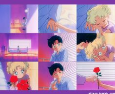 Sailor moon and tuxedo mask....Look how cute they are!!