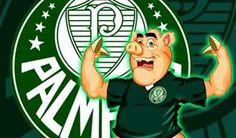 #piadas #piadasdefutebol #humor #lol #palmeiras  Qual é o menor chiqueiro do mundo?  R: A camisa do Palmeiras, pois só cabe um porco.