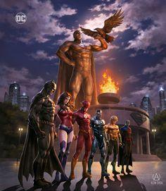 Batman Universe, Comics Universe, Mundo Superman, Steel Dc Comics, Superman Artwork, Death Of Superman, Arte Dc Comics, Dc Comic Books, Dc Comics Characters