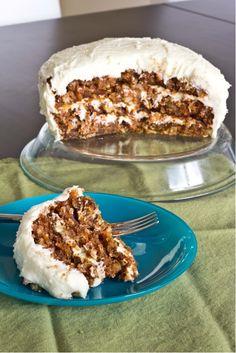 Tropical Carrot Cake ~ 3recipes.com