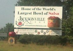 Home to the world's largest bowl of salsa!