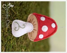 Free Felt Mushroom Sewing Pattern