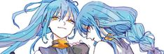 Manga Anime, Anime Art, Video Game Characters, Anime Characters, Slime, Blue Hair Anime Boy, Reborn Katekyo Hitman, Art Memes, Kawaii Anime