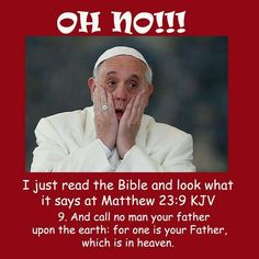 """That Father is Jehovah God Psalms """"That people may know that you whose name is Jehovah, you ALONE are the MOST HIGH over all the earth"""" Call No Man Father, You Are The Father, Jw Meme, Jw Jokes, Jehovah's Witnesses Humor, Jw Humor, Bible Questions, Learn Hebrew, Christian Memes"""