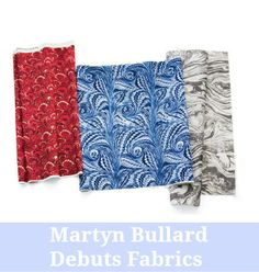 A-list decorator Martyn Bullard is debuting fabric