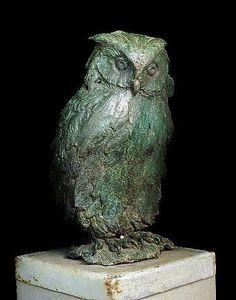 An Owl by Giambologna 1 Bird Sculpture, Animal Sculptures, Bronze Sculpture, Skeleton Drawings, Tree Carving, Baroque Architecture, Ceramic Owl, Owl Art, Art World