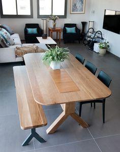 שולחן ספליט מעוגל