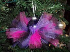 Tutu ornament by itsybitsyprincess on Etsy, $8.50