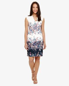 c607a29563c Phase Eight Dina Floral Dress Multi