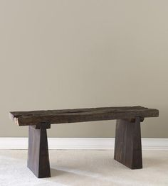 Reclaimed Railroad Tie Bench | Collections GOOD WOODS | bambeco | Scoutmob Shoppe | Product Detail