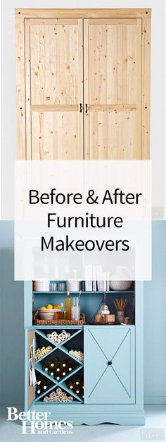 When you're on a budget, turn to furniture you already have or pieces you can find at a thrift store to decorate your home. These before and after photos prove all it takes is a few genius DIY ideas to turn dated desks, dressers, and chairs into show-stopping home decor.