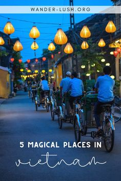 Planning a trip to SE Asia and wondering where to go in South Vietnam? Here are 5 unmissable destinations, plus recommended activities & accommodations. Luang Prabang, Vietnam Travel Guide, Asia Travel, Thailand Travel, Laos, Vietnam Vacation, South Vietnam, Hoi An, Amazing Destinations