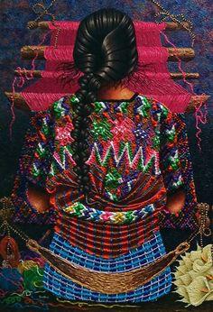 Weaver from Tecpan, Guatemala