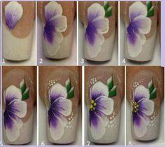 one stroke easy to do flower