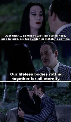 PSA: Morticia And Gomez Addams Are Literally The Perfect Couple Adams Family Quotes, Family Love Quotes, Perfect Couple Quotes, Morticia And Gomez Addams, Morticia Addams Makeup, Addams Family Morticia, Los Addams, Movie Quotes, Quotes Quotes