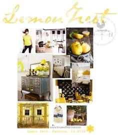 lemon zest pantone color of spring 2013