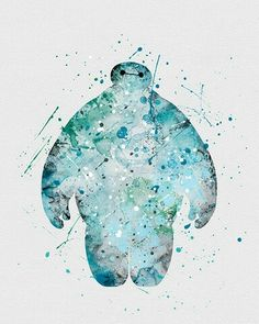 Watercolor - Baymax