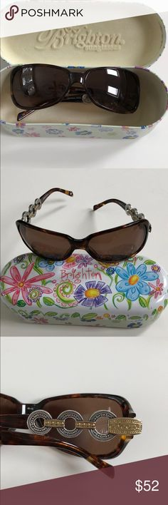 2ca90e5644c EUC Brighton Sunglasses Great Pair if Brighton sunglasses Large lenses  protect the whole eye
