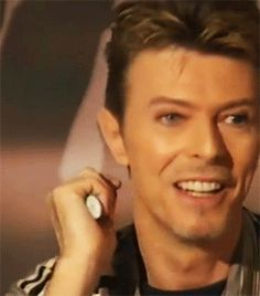 David Bowie Smiles <3