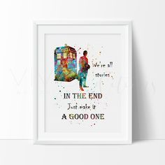 Tardis, Doctor Who Quote